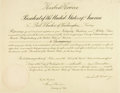 Autographs:U.S. Presidents, President Herbert Hoover Appointment Signed....