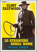 "Movie Posters:Western, High Plains Drifter (Universal, 1973). Italian 4 - Foglio (55"" X 77.25""). Western.. ..."