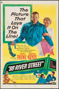"""Movie Posters:Crime, 99 River Street & Other Lot (United Artists, 1953). One Sheets (2) (27"""" X 41""""). Crime.. ... (Total: 2 Items)"""