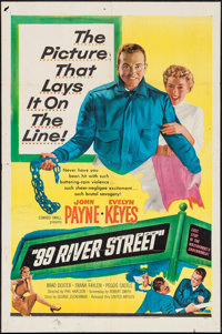 "99 River Street & Other Lot (United Artists, 1953). One Sheets (2) (27"" X 41""). Crime. ... (Total: 2 I..."