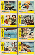 """Movie Posters:Fantasy, The Fabulous World of Jules Verne (Warner Brothers, 1961). LobbyCard Set of 8 (11"""" X 14""""). Fantasy.. ... (Total: 8 Items)"""