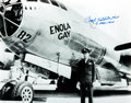 Autographs:Military Figures, Enola Gay Pilot Paul Tibbets Signed Photograph....