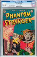 Golden Age (1938-1955):Horror, The Phantom Stranger #4 (DC, 1953) CGC FN- 5.5 Off-white to whitepages....