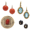 Estate Jewelry:Lots, Multi-Stone, Gold Jewelry. ...