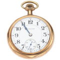 Timepieces:Pocket (post 1900), Hamilton 19 Jewel Series 952 Open Face Pocket Watch. ...