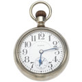 Timepieces:Pocket (post 1900), Elgin 19 Jewel B.W. Raymond Open Face Pocket Watch. ...