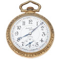 Timepieces:Pocket (post 1900), Illinois 21 Jewel Santa Fe Special Open Face Pocket Watch. ...