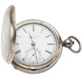 "Timepieces:Pocket (pre 1900) , Joseph Sewill Lever Fusee ""Railway Timekeeper"" Pocket Watch. ..."