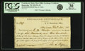 Confederate Notes:Group Lots, Confederate States of America - Huntsville, TX - C. S. DepositoryOffice Exchange Certificate $6,300/$4,200 Dec. 6, 1864 T...