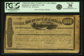 Confederate Notes:Group Lots, Confederate States of America - Richmond, VA 4% Call Certificate$1000 186_ Ball 276, Cr. 136. Remainder. PCGS Very Fine 3...