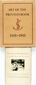 Books:Books about Books, [Printmaking]. Pair of Titles. New York: [various publishers, various dates].... (Total: 2 Items)