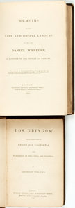 Books:Non-fiction, [Nonfiction]. Pair of Titles. London: [various publishers], 1842 and 1849.... (Total: 2 Items)