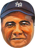 Baseball Collectibles:Others, 1933 Feen-A-Mint Babe Ruth Mask....