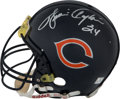 """Football Collectibles:Helmets, Walter Payton Signed Chicago Bears """"Authentic"""" Full Sized Helmet...."""