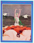 "Memorabilia:Poster, Victor Moscoso ""Joint Show"" July 1967 Event Poster (Neon Rose,1967)...."