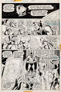Original Comic Art:Panel Pages, Dick Dillin and Frank McLaughlin Justice League of America#121 Page 5 Original Art (DC, 1975)....