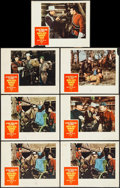 """Movie Posters:Adventure, North West Mounted Police (Paramount, R-1958). Lobby Cards (7) (11""""X 14""""). Adventure.. ... (Total: 7 Items)"""