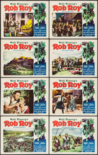 "Rob Roy, the Highland Rogue (RKO, 1954). Lobby Card Set of 8 (11"" X 14""). Adventure. ... (Total: 8 Items)"