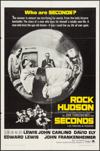 """Seconds (Paramount, 1966). One Sheet (27"""" X 41"""") and Lobby Card Set of 8 (11"""" X 14""""). Thriller..."""