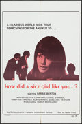 "Movie Posters:Sexploitation, How did a Nice Girl Like You...? & Others Lot (Saxton, 1970).One Sheets (3) (27"" X 41""). Sexploitation.. ... (Total: 3 Items)"