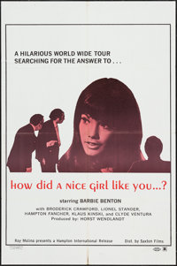 "How did a Nice Girl Like You...? & Others Lot (Saxton, 1970). One Sheets (3) (27"" X 41""). Sexploitatio..."
