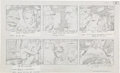 "Original Comic Art:Miscellaneous, Jack Kirby Fantastic Four ""Blastaar the Living Bomb Burst""Storyboard #5 Original Animation Art (DePatie-Freleng, ..."