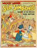 """Platinum Age (1897-1937):Miscellaneous, Mickey Mouse Presents His Silly Symphonies """"Pop-Up"""" Book(Blue Ribbon, 1933) Condition: GD+...."""