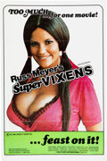 Memorabilia:Poster, Supervixens Movie Poster (RM Films International, 1975)....
