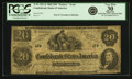 "Confederate Notes:1862 Issues, Confederate States of America - T47 1862 $20 ""Fantasy or Essay""Issue PF-1, Tremmel XX-2/A. PCGS Very Fine 30 Apparent...."