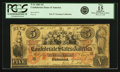 Confederate Notes:1861 Issues, Confederate States of America - T31 1861 $5 PF-1, Cr. 244. PCGS Fine 15 Apparent.. ...