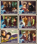 "Movie Posters:Mystery, Love from a Stranger & Others Lot (Eagle Lion, 1947). LobbyCards (6), & Lobby Card Set of 8 (2 Sets) (11"" X 14"").Mystery.... (Total: 22 Items)"
