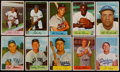 Baseball Cards:Lots, 1954 Bowman Baseball Collection (39) With Mantle & Mays....
