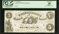 Confederate Notes:1861 Issues, T11 $5 1861 Cr. 44.. ...