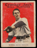 Baseball Cards:Singles (Pre-1930), 1915 Cracker Jack Smokey Joe Wood #22. ...