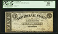 Confederate Notes:1861 Issues, T12 $5 1861 Cr. 46.. ...