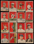 Baseball Cards:Lots, 1915 Cracker Jack Collection (16) With HoFers. ...