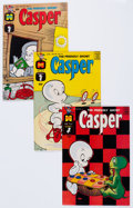 Silver Age (1956-1969):Humor, Friendly Ghost Casper File Copies Box Lot (Harvey, 1962-87) Condition: Average VF/NM....