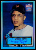 Baseball Cards:Singles (1970-Now), 2001 Topps Archives Reserve Rookie Reprint Autograph Willie Mays....