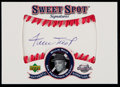 Baseball Cards:Singles (1970-Now), 2001 Sweet Spot Signatures Willie Mays #S-WM....