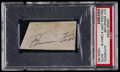 Autographs:Others, Jimmie Fox Cut Signature PSA/DNA Authentic....