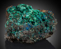 Minerals:Cabinet Specimens, Azurite & Malachite. Bisbee, Warren District, Mule Mts,Cochise Co., Arizona, USA. ...