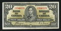 Canadian Currency: , BC-25c $20 1937 . ...