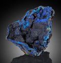 Minerals:Cabinet Specimens, Azurite. Bisbee, Warren District, Mule Mts, Cochise Co.,Arizona, USA. ...