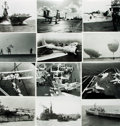 Books:Prints & Leaves, [Naval Aviation]. Archive of Approximately Fifty-Four Photographsand Publications Relating to Naval Aviation. ...