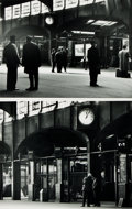 Books:Photography, David Plowden, photographer. Pair of Photographic Prints by Plowden Depicting Penn. Station in New York City. [n.d., circa 1...