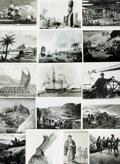 Books:Prints & Leaves, [Exploration]. Archive of Approximately 240 Photographs and ImagesRelating to the History of Exploration. ...