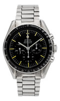 Timepieces:Wristwatch, Omega 105.012-66 Pre-Moon Steel Speedmaster Professional, circa1966. ...