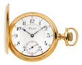 Timepieces:Pocket (post 1900), E. Howard Watch Co. 14k Gold 23 Jewel Model 1907 Hunters Case. ...
