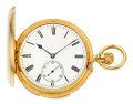 Timepieces:Pocket (pre 1900) , Hector Golay Important & Very Fine Gold Minute Repeater, circa1885. ...