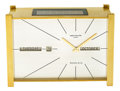 Timepieces:Clocks, Patek Philippe Solar Clock For Tiffany & Co. With Calendar,circa 1968. ...